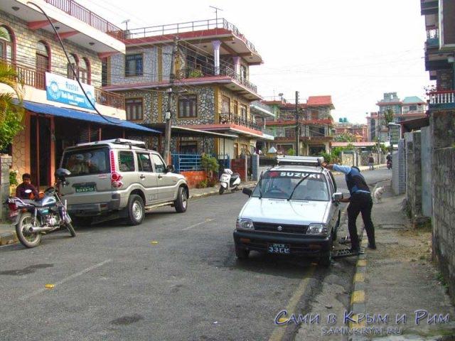Утро Покхаре перед стартом трека