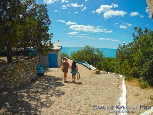 Дорога к морю в Батилимане