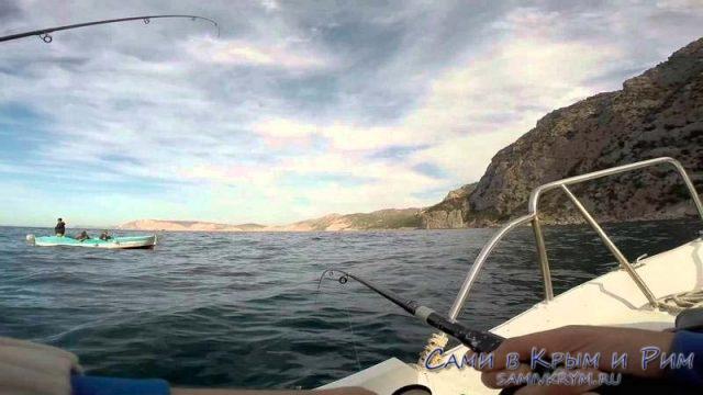 Ловим рыбу в Балаклаве