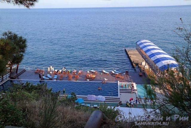 Пляж Респект Холл