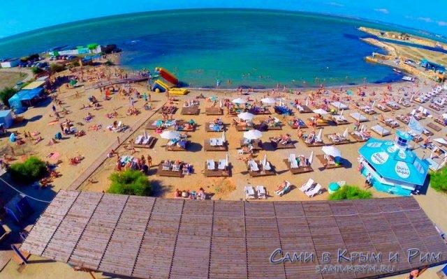 Пляж отеля Аквамарин