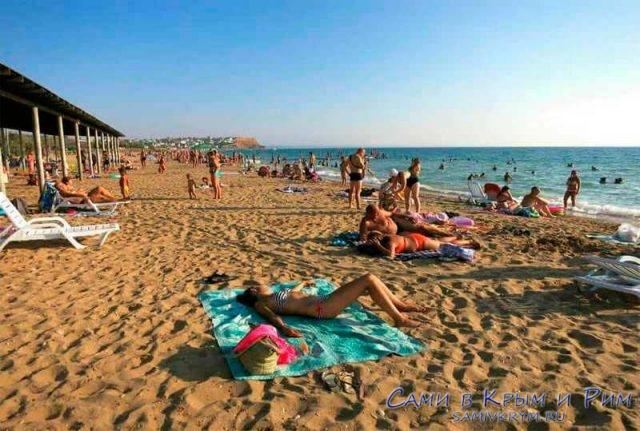 Пляжи Учкуевки на Северной стороне