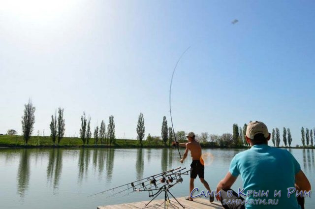 Рыбалка в Крыму на платных ставках