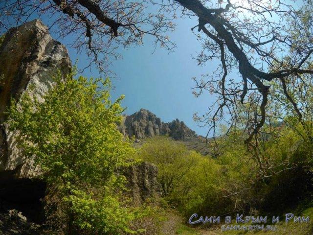 Взгляд на истуканов из Долины Приведений