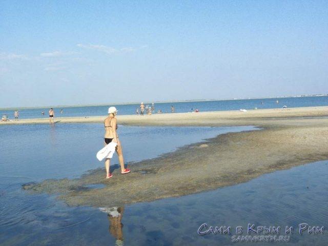 Дикие пляжи Поповки у озера
