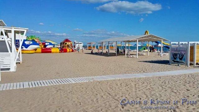 Пляж Трехгорка