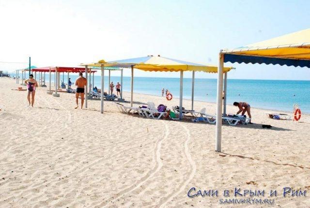 Пляжи Саки