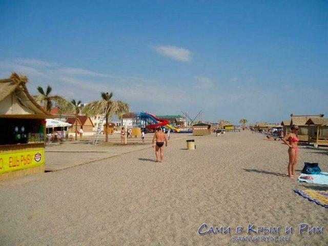 Пляжи у Прибрежного