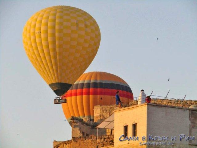 Гереме и вездесущие воздушные шары