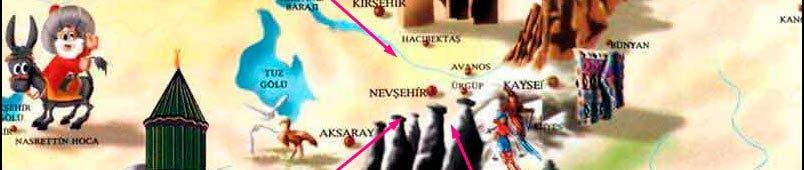 Карта-Каппадокии-и-ее-окрестностей