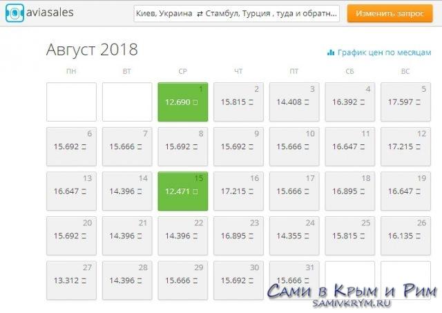 Киев - Стамбул