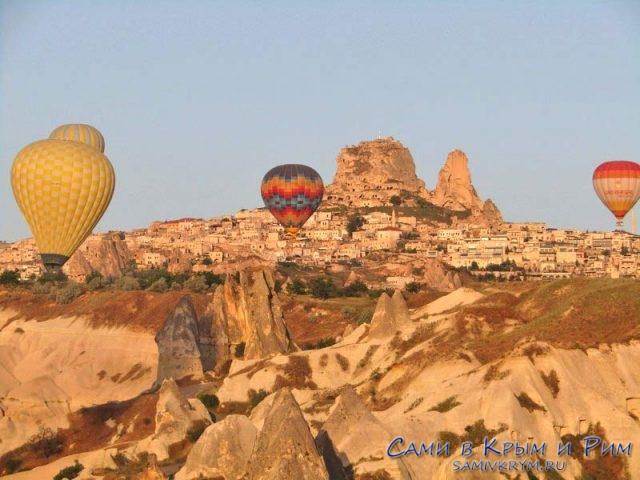 Крепость Учихисар и воздушные шары