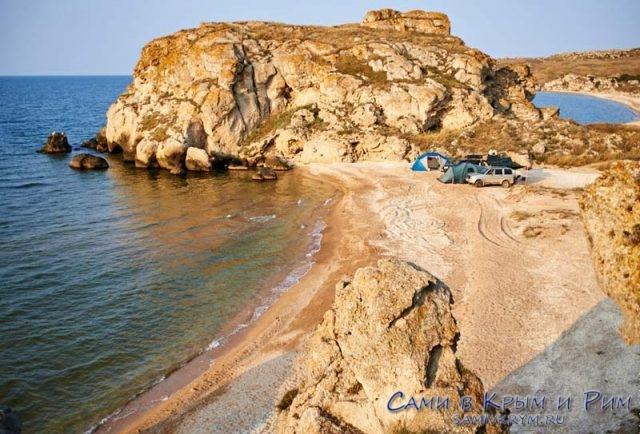 Отдых-с-палатками-на-Генеральских-пляжах