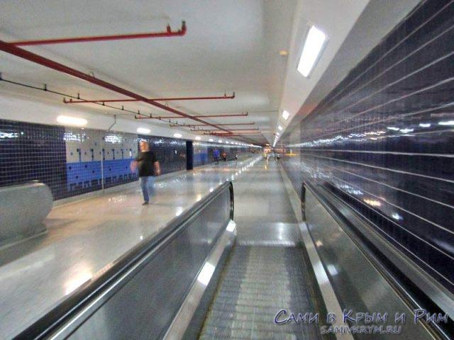 Подземный переход к Автовокзалу