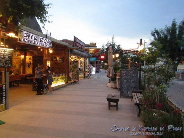 Вечерние улочки Гереме