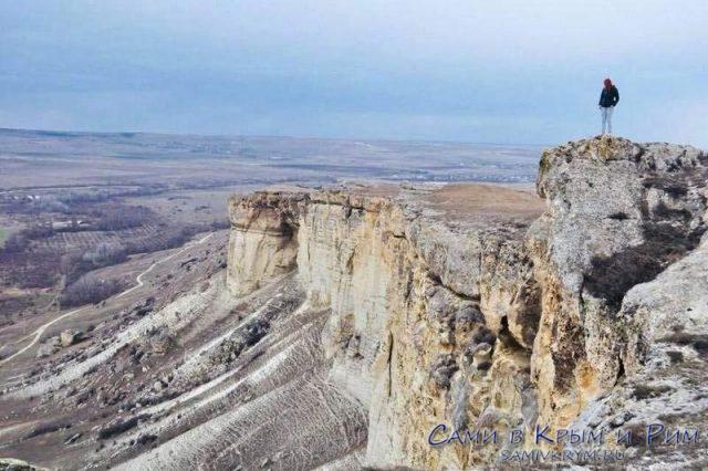 Виды с Белой Скалы сногсшибательные