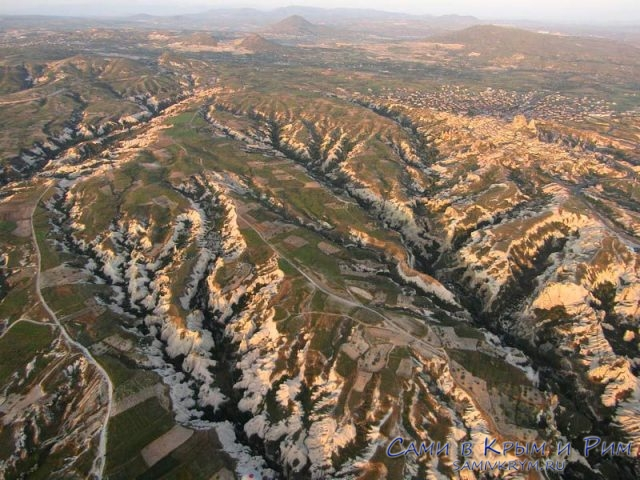 Все долины видны сверху