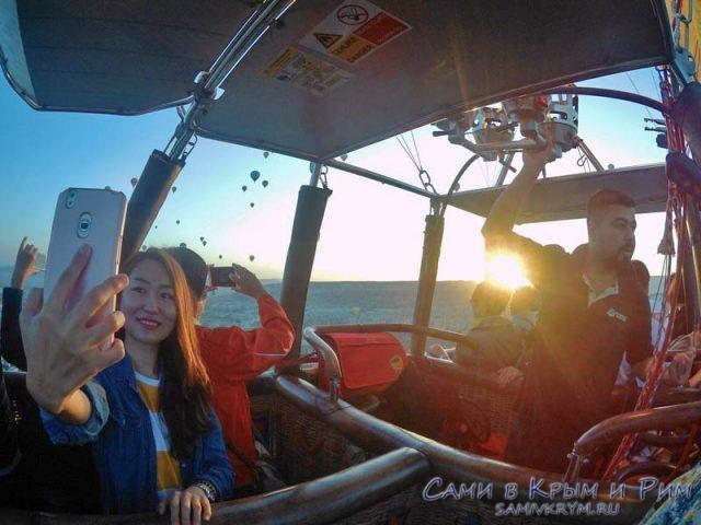 Встречаем рассвет в Каппадокии на воздушном шаре