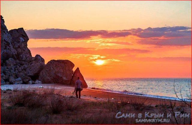 Закат-на-Азовском-море