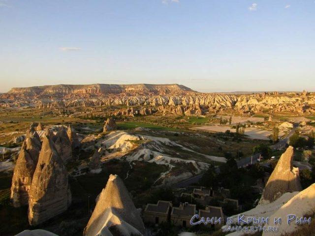 Холм Актепе и Красная долина