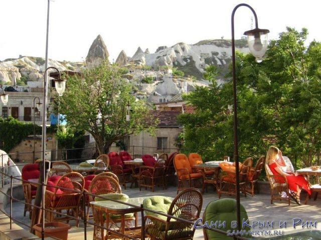Летние видовые площадки в кафе