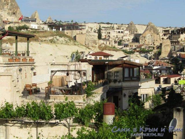 Многоярусные территории отелей в Гереме