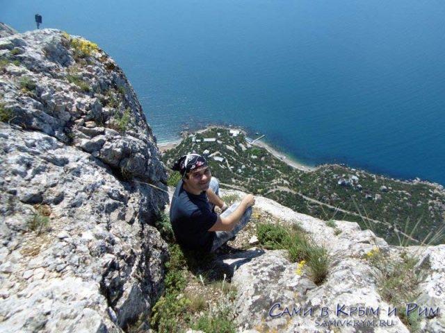 Отдых на горе с шикарными видами