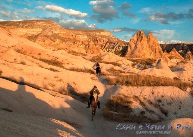 Туры на лошадях в Каппадокии