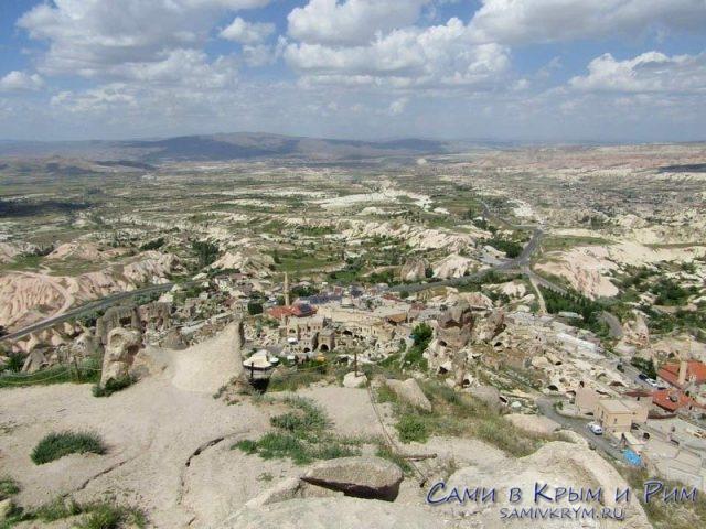 Вид на Гереме и Долину Любви