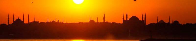 Закат над Стамбулом