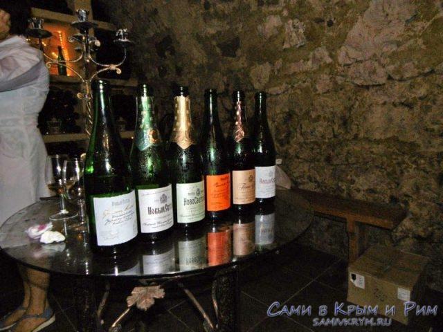 6 видов шампанского для дегустации