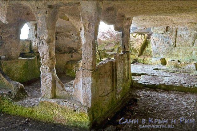 Храмы Тепе-Кермен