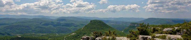 Крымские горные долины