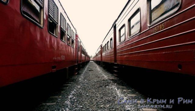 Ланкийские поезда