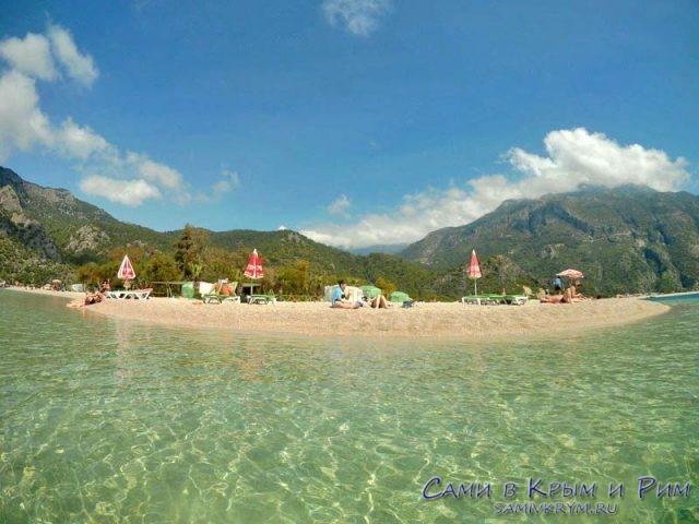 Пляж Олюдениз рядом с Фетхие