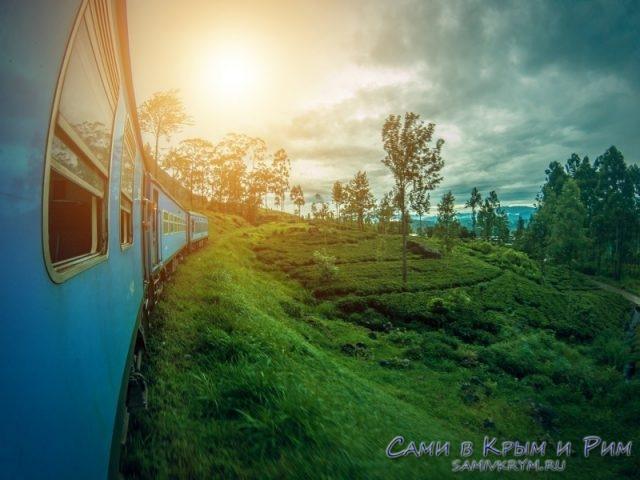 Поезд в Нувара Элию