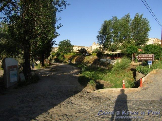 Поворот на долину Земи и церковь Аль Назар