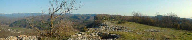 Просторы плато Кыз-Кермен
