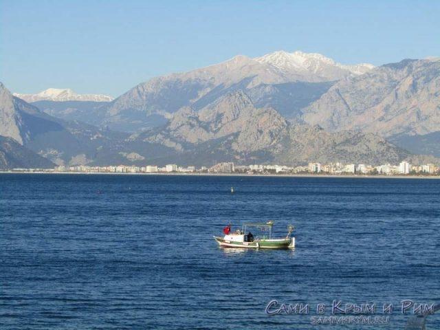 Рыбаки в Анталии