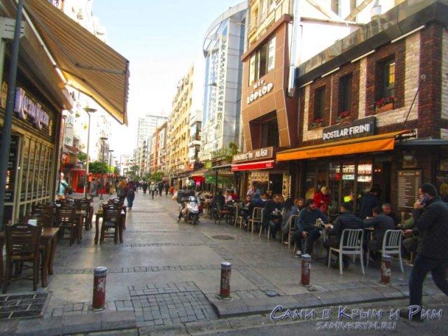 Самая тусовочная улица Измира
