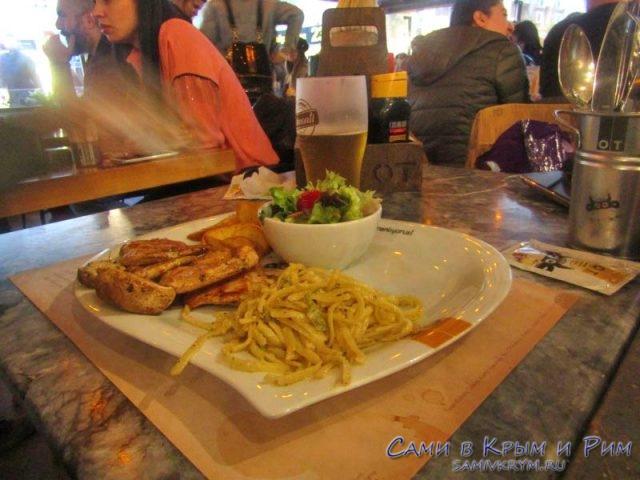 Ужин в отличном ресторане Измира