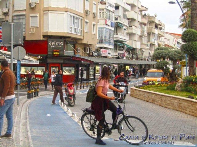 Велосипедные дорожки в Мармарисе