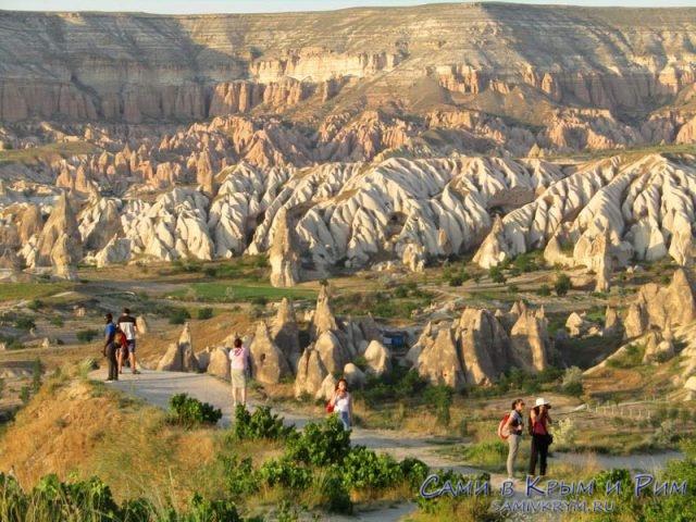 Вид на Актепе и Красную Долину