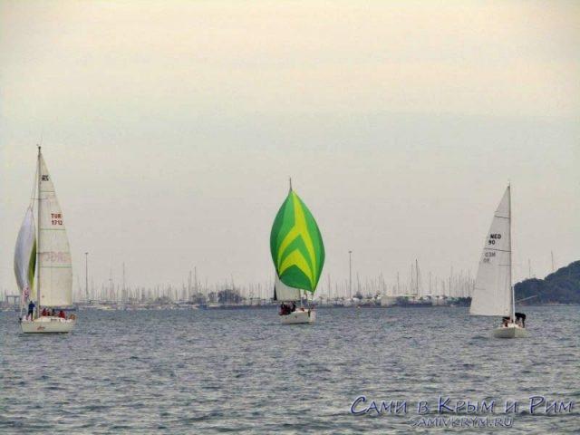 Яхтенный флот Мармариса