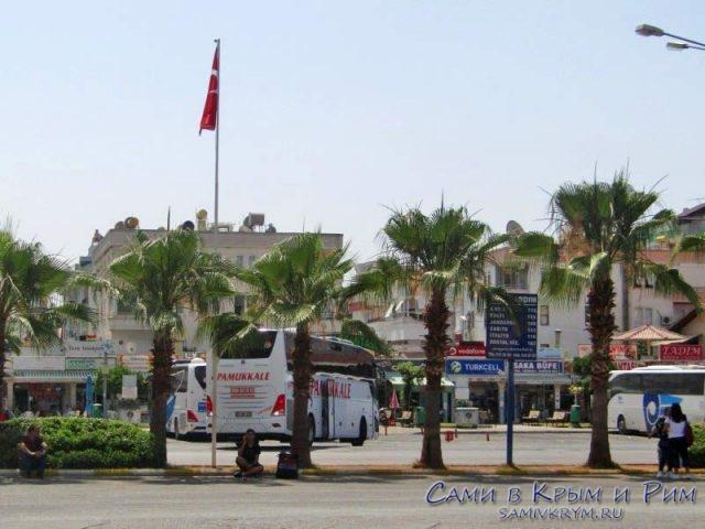 Автовокзал в Алании