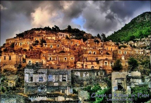 Деревня Каракей в сумерках