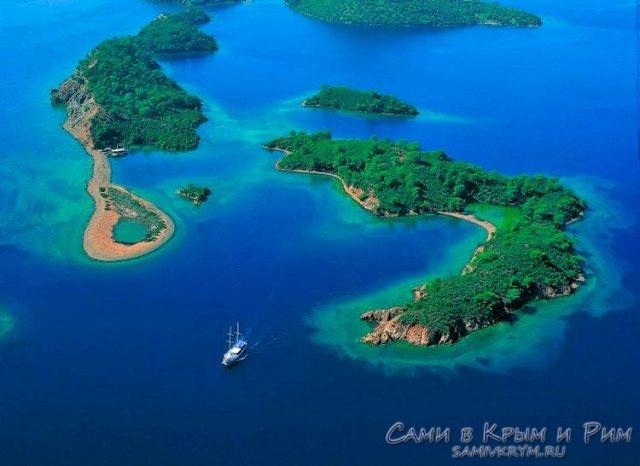 Морская прогулка 12 островов
