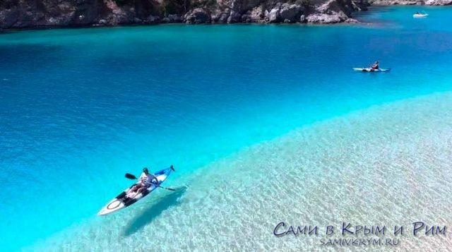 Невероятный цвет воды в Голубой лагуне