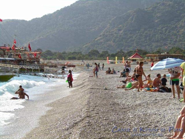 Общественный-пляж-Олюдениз