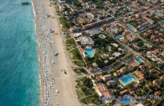 Пляж Чалыш и прибрежные отели